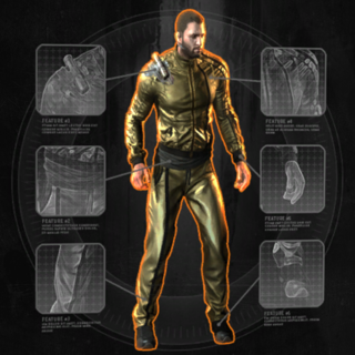 Golden Boy Outfit