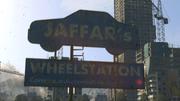 Jaffar's Wheelstation Sign