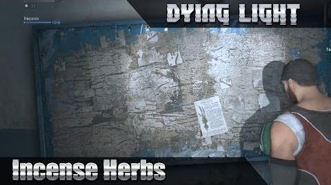 Dying light Incense Herbs COOP 1080p 60HD