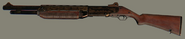 Engraved Semi-Automatic Shotgun