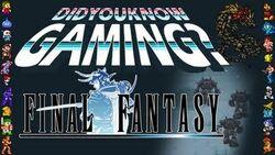 DYKG Final Fantasy