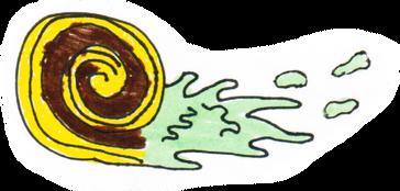 Ectoplasmic ghost snail