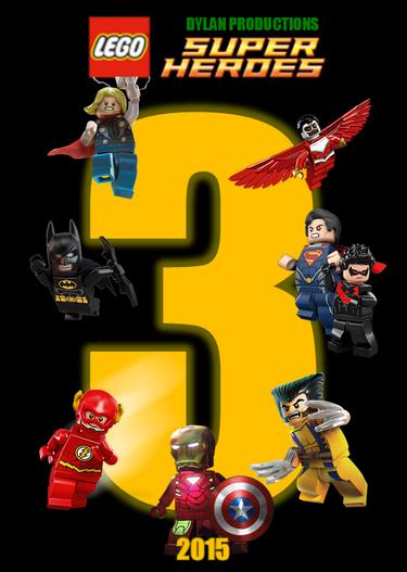 Lego Superheroes 3 Teaser Poster