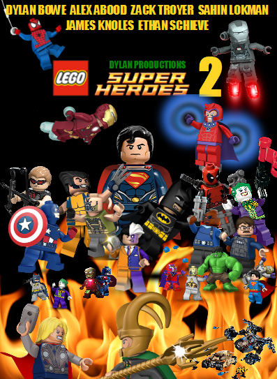 Lego Superheroes 2 poster