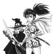 Enma-kun and Dororo