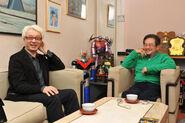 Go Nagai and Makoto Tezuka (2013) 2