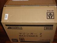 DX Soul of Chogokin Mazinger Z package