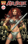 Red Sonja 0 Cover Black