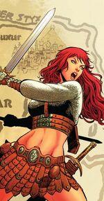 Red Sonja Alternate Attire