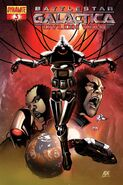 Cylon War 03 Cover B