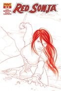 Red Sonja vol 2 09 Cover F