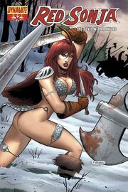 Red Sonja 32 Cover B