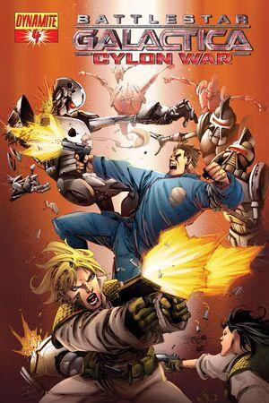 Cylon War 04 Cover A