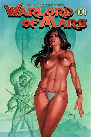 Warlord of Mars 100 Cover A