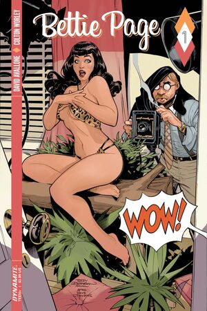 Bettie Page 01 Cover A