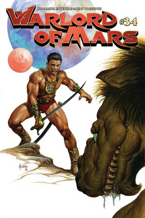 Warlord of Mars 34 Cover A