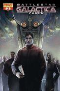 Battlestar Galactica Zarek Vol 1 3-B