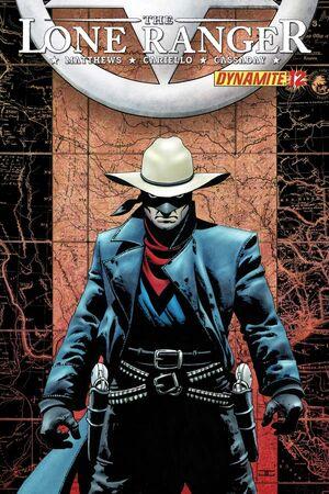 Lone Ranger 12 Cover