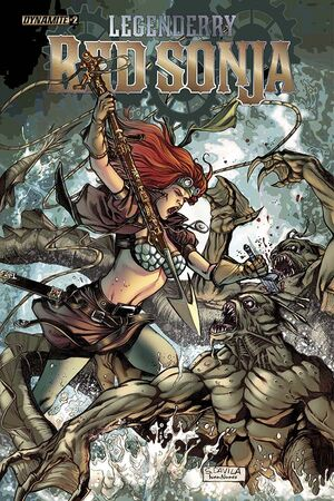 Legenderry Red Sonja 02 Cover A
