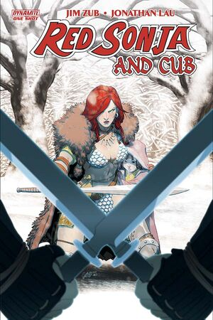 Red Sonja and Cub Cover