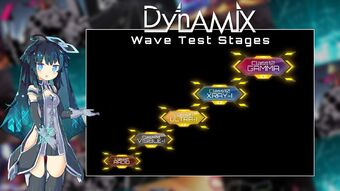 Wave Test 1 Stage