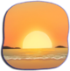 EveningBeachBG-HQ