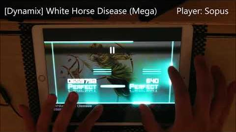 Dynamix White Horse Disease (Mega) All Perfect OMEGA Rank!