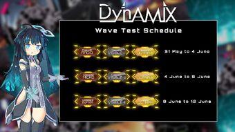 Wave Test 1 Schedule