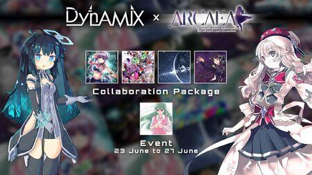 Dynamix x Arcaea Collaboration
