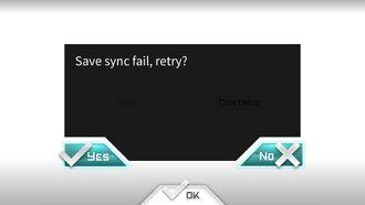 Sync fail, retry