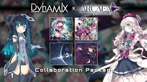 Dynamix vs Arcaea Collaboration Package Preview