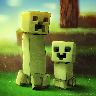 image minecraft creepers by kikariz d37b0nd png dynamix wiki