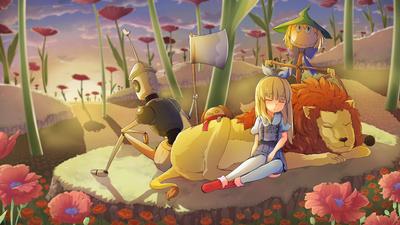 Deadly Poppy Field - Cover Art