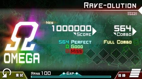 【大嘎】 Rave-Olution (HARD) OMEGA ALL PERFECT by Player RM-DAGA 【Dynamix】 【手元】