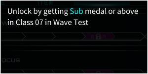 Unlocked Wave Test Songs