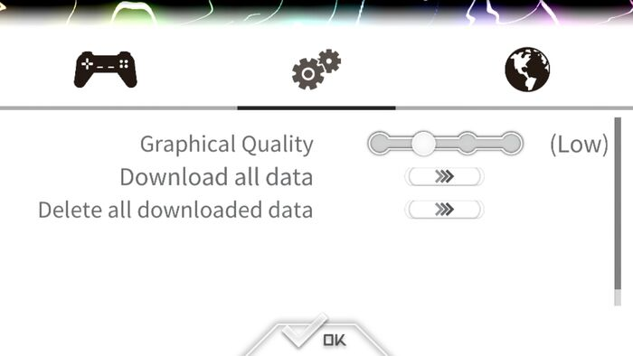 Graphic Setting and Data Download