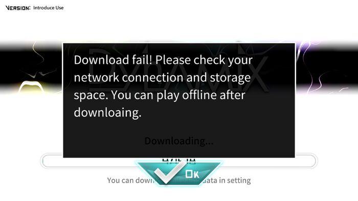 Download fail