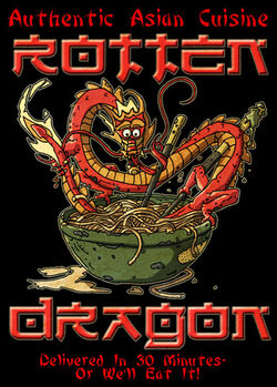 Rotten dragon logo