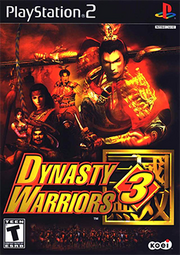Dynasty Warriors 3 Coverart