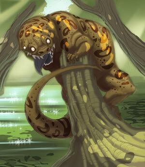 Four Eyed Tree Lizard