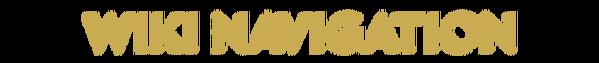 Wiki Navigation