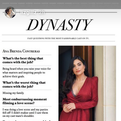 Ana Brenda's Interview from Liz