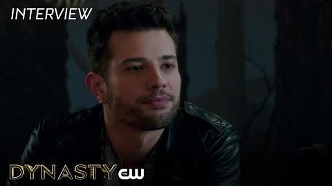 "Dynasty Rafael de La Fuente ""Samuel"" Interview The CW"
