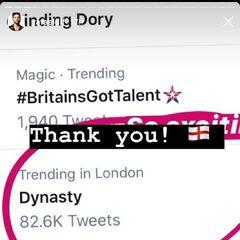 Trending on twitter in London