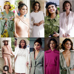 Some of Cristal's Season 1 Looks