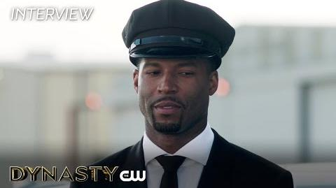 "Dynasty Robert Christopher Riley ""Michael Culhane"" Interview The CW"