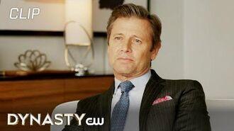 Dynasty Season 3 Episode 12 Blake's Surprise Visit Scene The CW