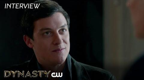 "Dynasty James MacKay ""Stephen Carrington"" Interview The CW"