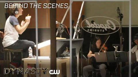 Dynasty Behind the Scenes - Theme Song The CW