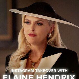 Elaine Hendrix takes over the <i>Dynasty</i> Instagram